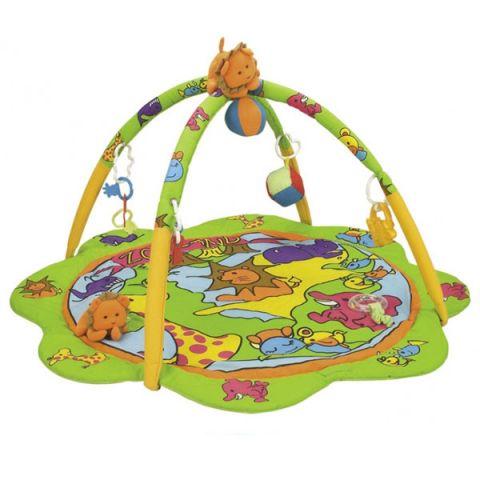 Canpol babies 250930007 Коврик игровой - зоопарк, 0+
