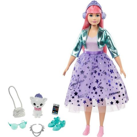 Mattel Barbie GML77 Барби Набор Barbie Приключения принцессы кукла+питомец