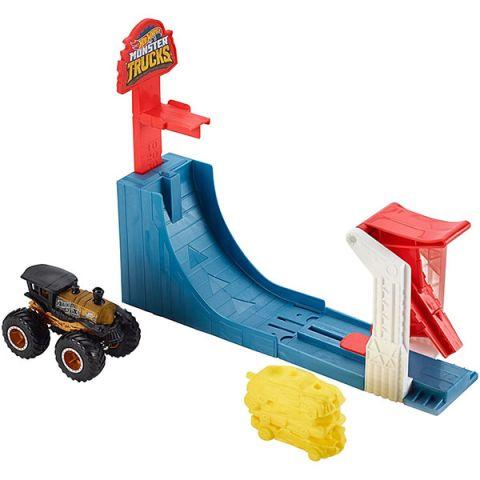 """Mattel Hot Wheels GCG00 Хот Вилс Игровой набор Монстр трак """"Поединок в воздухе"""""""
