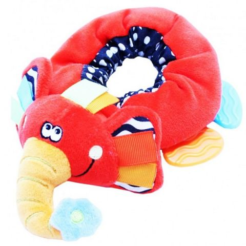 """ROXY-KIDS RBT20023 Погремушка на ногу с прорезывателем """"Слоненок Элли"""""""
