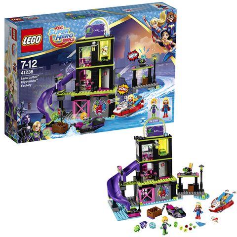 LEGO Super Hero Girls 41238 Конструктор ЛЕГО Супергёрлз Фабрика Криптомитов Лены Лютор