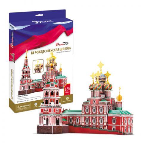 Cubic Fun MC191h Кубик фан Рождественская церковь (Россия)