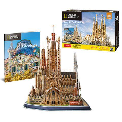 Cubic Fun DS0984h Кубик фан Храм Святого Семейства (Испания)