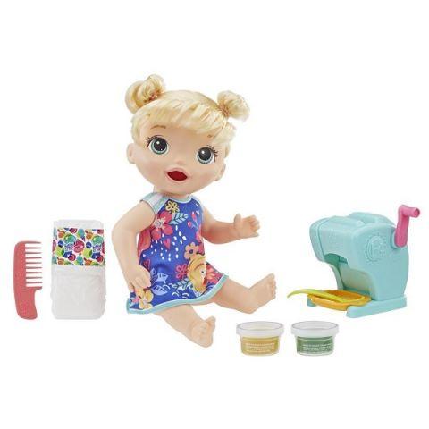 Hasbro Baby Alive E3694 Кукла Малышка и макароны