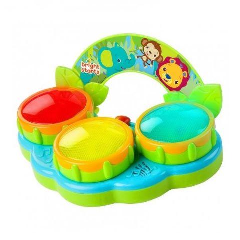 """BRIGHT STARTS 52269 Музыкальная игрушка """"Барабаны Сафари"""""""