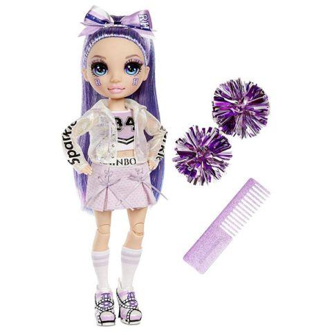 Rainbow High 572084 Кукла Cheer Doll - Violet Willow (Purple)