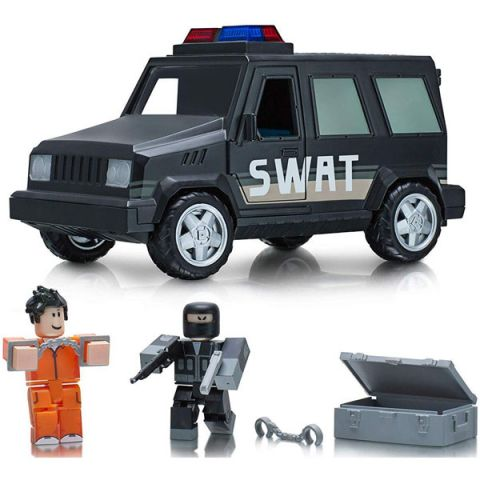 Roblox 10774 Машина с фигурками Jailbreak: SWAT Unit