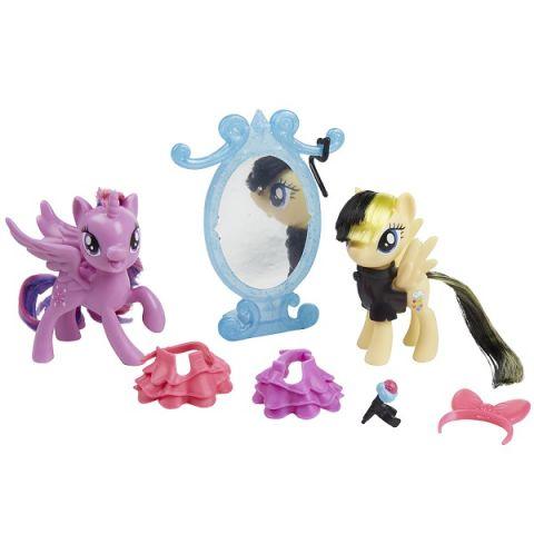 Hasbro My Little Pony B9160/E0996 Игровой набор Уроки Дружбы Искорка и Серенада