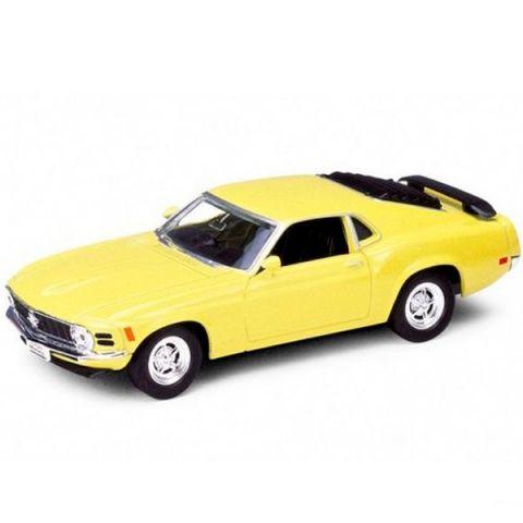 Welly 49767 Велли Модель винтажной машины 1:34-39 Ford Mustang 1970