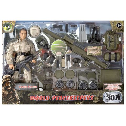 "World Peacekeepers MC90603 Игровой набор ""Подрывник"" 1:6"