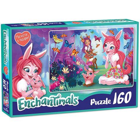 Enchantimals AST188871 Пазл Бри и Даниэсса 160 элементов