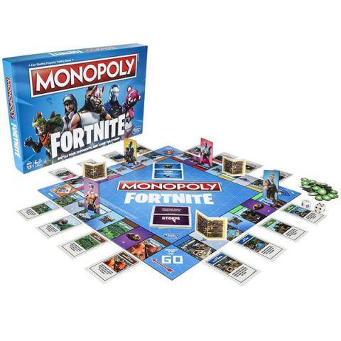 Hasbro Monopoly E6603 Монополия Фортнайт