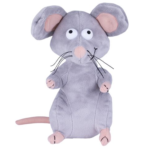 SOFTOY S1069/21 Мягкая игрушка Мышь, 21 см