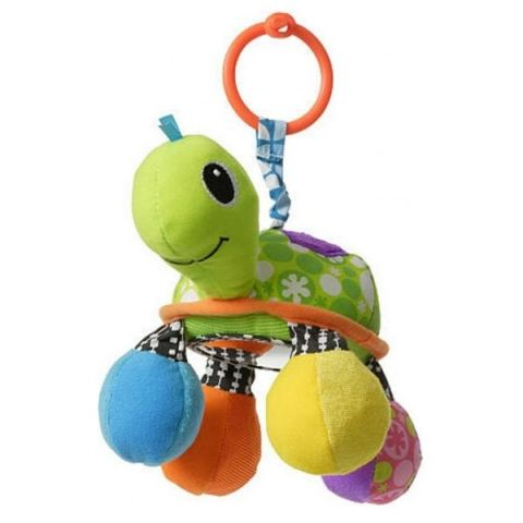 """Infantino 5054 Подвесная игрушка """"Черепашка"""" (зеленая)"""