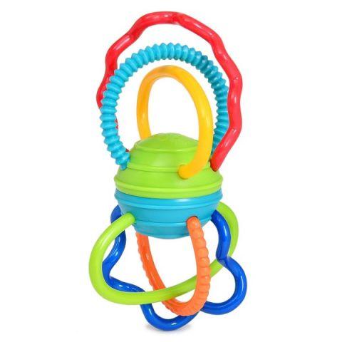 """Oball 81508 Развивающая игрушка """"Разноцветная гантелька"""""""