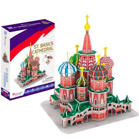 Cubic Fun C239h Кубик фан Собор Василия Блаженного (Россия)
