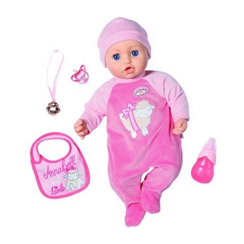 Zapf Creation Baby Annabell 702-628 Аннабель Кукла многофункциональная, 43 см