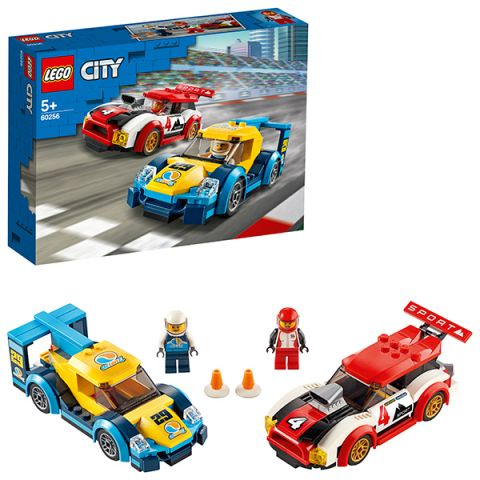 LEGO City 60256 Конструктор ЛЕГО Город Turbo Wheels Гоночные автомобили