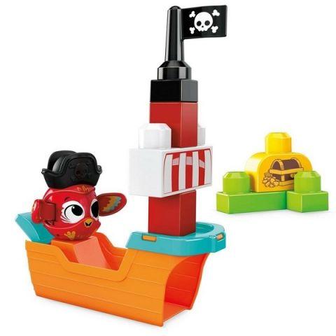 Mattel Mega Bloks GRV34 Мега Блокс Прятки с пиратами