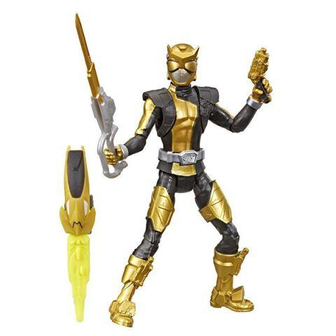 Hasbro Power Rangers E6030 Золотой Рейнджер с боевым ключом