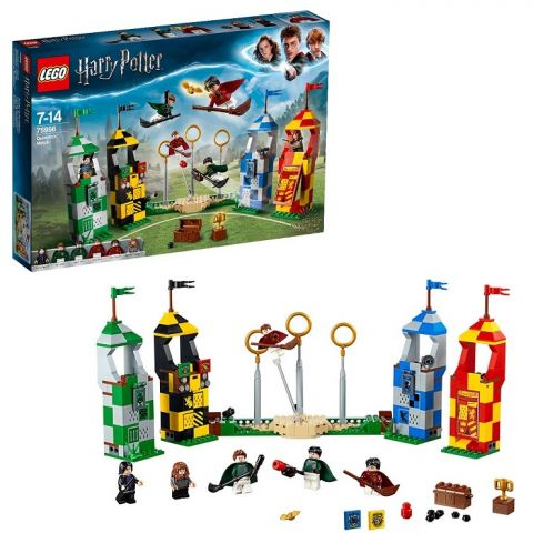 LEGO Harry Potter 75956 Конструктор ЛЕГО Гарри Поттер Матч по Квиддичу