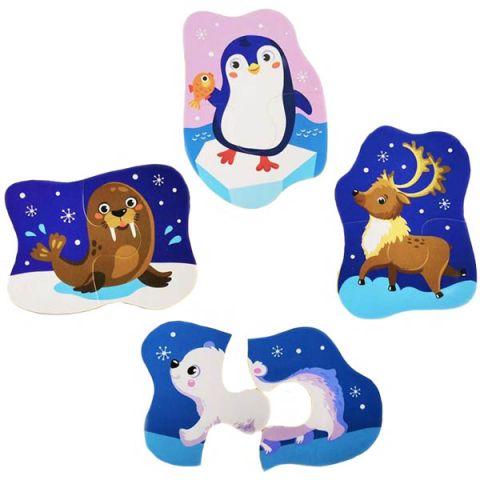 Malamalama 4627131681739 MAXI-пазлы. Ледяные полюса