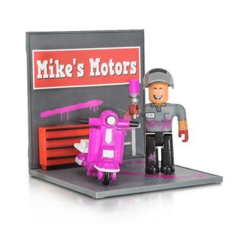 Roblox ROB0308 Фигурка героя Welcome to Bloxburg: Mechanic Mayhem (DS) с аксессуарами