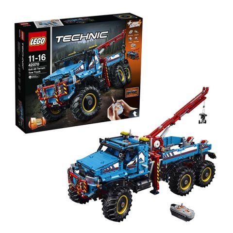 LEGO Technic 42070 Конструктор ЛЕГО Техник Аварийный внедорожник 6х6