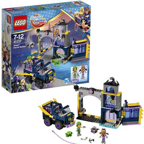 LEGO Super Hero Girls 41237 Конструктор ЛЕГО Супергёрлз Секретный бункер Бэтгёрл