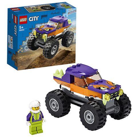 LEGO City 60251 Конструктор ЛЕГО Город Great Vehicles Монстр-трак