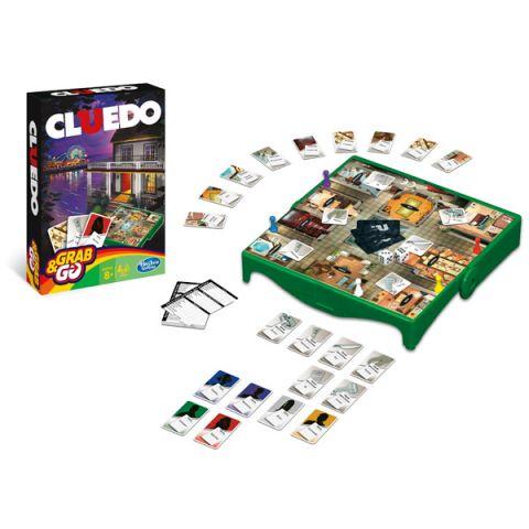 Hasbro Other Games B0999 Настольная игра Клуэдо - Дорожная версия