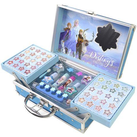 Markwins 1599018E Frozen Игровой набор детской декоративной косметики для лица и ногтей в кейсе