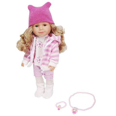 Lilipups LVY011 Кукла с аксессуарами 40 см (озвученная - 20 фраз)