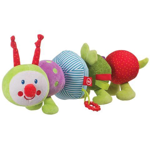 """Happy Baby 330346 Развивающая игрушка-трансформер """"Гусеница"""""""