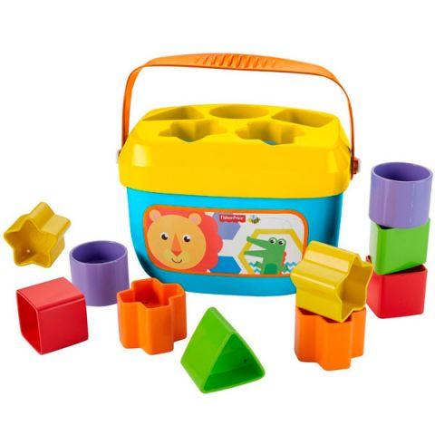 Mattel Fisher-Price FFC84 Фишер Прайс Первые кубики малыша