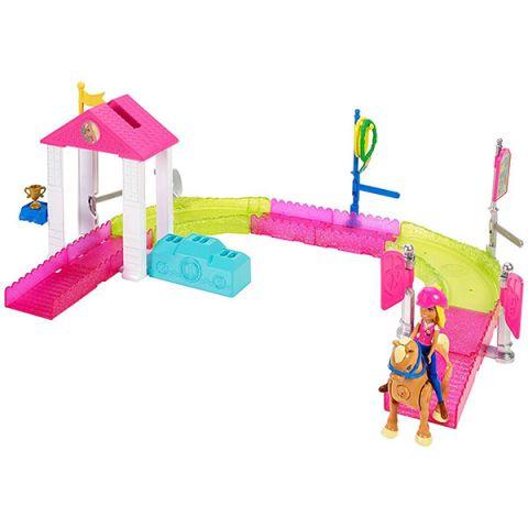 """Mattel Barbie FHV66 Барби В движении Игровой набор """"Скачки"""""""