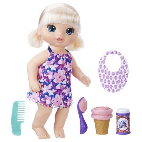 Hasbro Baby Alive C1090 Малышка с мороженным
