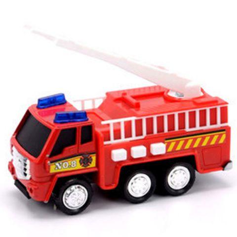 Soma 71320 Пожарная машина со световым и звуковым эффектом 12 см
