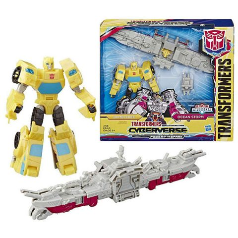 Hasbro Transformers E4220/E4329 Трансформеры Спарк Армор Бамблби 18 см
