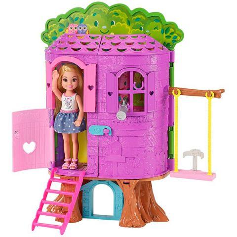 """Mattel Barbie FPF83 Барби Игровой набор """"Домик на дереве Челси"""""""