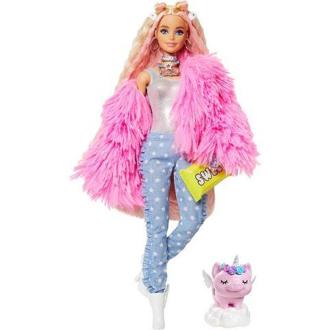 Mattel Barbie GRN28 Барби Кукла в розовой куртке