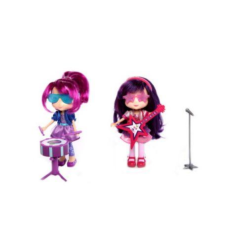 Strawberry Shortcake 12243 Шарлотта Земляничка Кукла 15 см с муз. инструментом (в ассортименте)