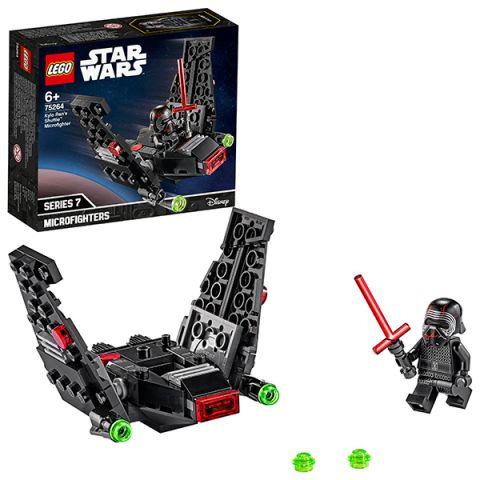 LEGO Star Wars 75264 Конструктор ЛЕГО Звездные войны Микрофайтеры: шаттл Кайло Рена