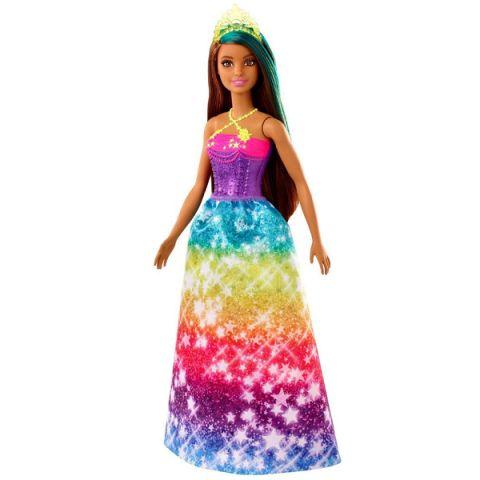 "Mattel Barbie GJK14 Барби Кукла ""Принцесса"" в ярком платье 2"