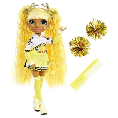 Rainbow High 572053 Кукла Cheer Doll - Sunny Madison (Yellow)