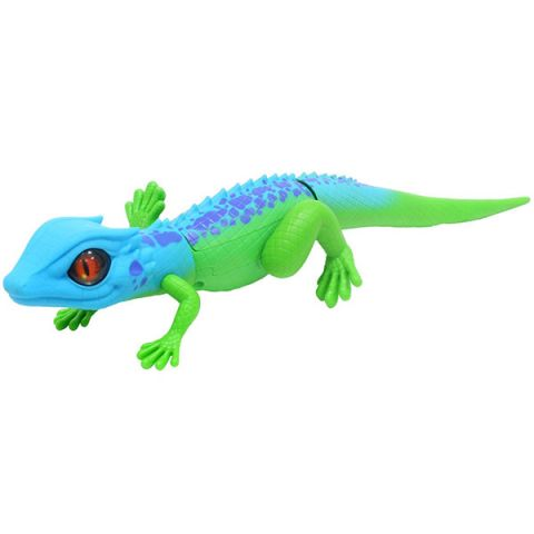 """Zuru RoboAlive T10993 Игрушка """"Роботизированная ящерица,сине-зеленая"""""""