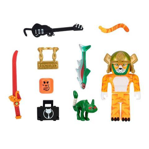 Roblox ROB0353 Фигурка героя Legend of Cat с аксессуарами