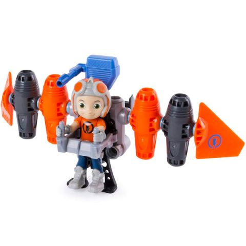 Rusty Rivets 28106-JET Строительный набор большой с фигуркой героя Jetpack