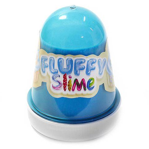 """KiKi FL008 """"Monster's Slime Fluffy"""" Голубой темный (Ваниль)"""