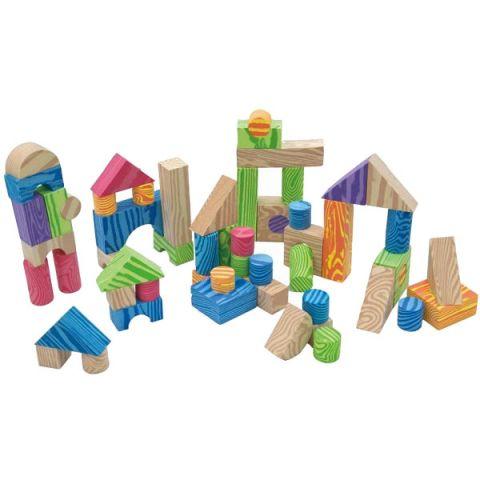 LITTLE HERO 3094 Набор мягких строительных кубиков
